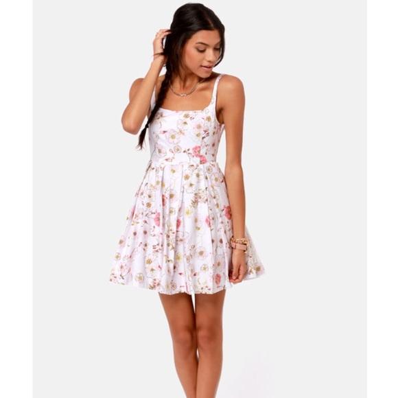 BB Dakota Dresses & Skirts - BB Dakota Galilee Floral Print Summer Dress